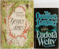 Books:Signed Editions, Eudora Welty. Group of Two. Harcourt, Brace and Co. and Vintage Books. Includes a first edition, first printing of T... (Total: 2 Items)