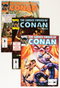 Magazines:Adventure, Savage Sword of Conan Short Box Group (Marvel, 1974-93) Condition: Average VF/NM....