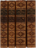 Books:Literature Pre-1900, William Morris. The Earthly Paradise: A Poem. Popular Edition inTen Parts and Four Volumes. Group of Four. London: ... (Total:4 Items)
