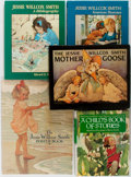 Books:Children's Books, [Jessie Wilcox Smith]. Illustrator. Various Authors. Group of Five.Various publishers. A collection of monographs (many f... (Total: 5Items)