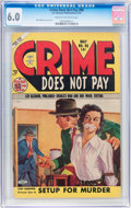 Golden Age (1938-1955):Crime, Crime Does Not Pay #98 (Lev Gleason, 1951) CGC FN 6.0 Cream to off-white pages....