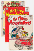 Silver Age (1956-1969):Humor, The Three Mouseketeers Group (DC, 1956-61) Condition: Average GD/VG.... (Total: 16 Comic Books)
