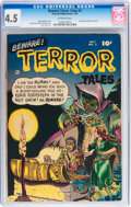Golden Age (1938-1955):Horror, Beware Terror Tales #2 (Fawcett Publications, 1952) CGC VG+ 4.5Off-white pages....