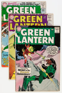 Green Lantern Group (DC, 1960-63) Condition: Average GD/VG.... (Total: 35 Comic Books)