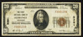 National Bank Notes:Colorado, Florence, CO - $20 1929 Ty. 1 The First NB Ch. # 5381. ...