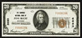 National Bank Notes:Arkansas, Pine Bluff, AR - $20 1929 Ty. 1 The Simmons NB Ch. # 6680. ...