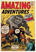 Silver Age (1956-1969):Horror, Amazing Adventures #1 (Marvel, 1961) Condition: VG-....