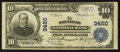 National Bank Notes:Colorado, Trinidad, CO - $10 1902 Plain Back Fr. 625 The Trinidad NB Ch. #3450. ...