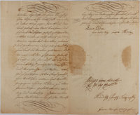 Maria Theresia Document Signed