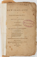 Miscellaneous:Ephemera, [William Cobbett]. A New Year's Gift To The Democrats; orObservations On A Pamphlet of Mr. Randolph's Resignation ByPe...