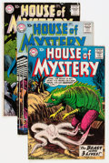 Silver Age (1956-1969):Horror, House of Mystery Group (DC, 1960-64) Condition: Average VG/FN....(Total: 16 Comic Books)