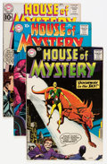 Silver Age (1956-1969):Horror, House of Mystery Group (DC, 1960-63) Condition: Average FN/VF....(Total: 12 Comic Books)