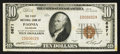 National Bank Notes:Colorado, Paonia, CO - $10 1929 Ty. 1 The First NB Ch. # 6671. ...