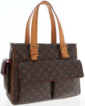 Luxury Accessories:Bags, Louis Vuitton Classic Monogram Canvas Multiple Cite Bag. ...