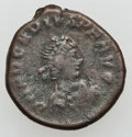 Ancients:Ancient Lots  , Ancients: ROMAN IMPERIAL. Lot of thirty-three (33) late Roman bronze coins.... (Total: 33 coins)