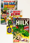 Silver Age (1956-1969):Superhero, Marvel Silver and Bronze Age Comics Group (Marvel, 1960s-'70s) Condition: Average VG.... (Total: 39 Comic Books)
