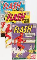 Silver Age (1956-1969):Superhero, The Flash Group (DC, 1959-63) Condition: Average GD/VG.... (Total: 11 Comic Books)