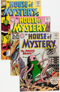 Silver Age (1956-1969):Horror, House of Mystery Group (DC, 1960-64) Condition: Average FN....(Total: 15 Comic Books)