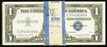 Small Size:Silver Certificates, Fr. 1620 $1 1957A Silver Certificates. Pack of 100.. ... (Total: 100 notes)