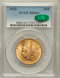 Indian Eagles, 1932 $10 MS64+ PCGS. CAC. PCGS Population (8937/1250). NGC Census:(11170/2556). Mintage: 4,463,000. Numismedia Wsl. Price ...