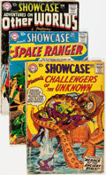 Silver Age (1956-1969):Miscellaneous, Showcase Group (DC, 1958-59) Condition: Average FR.... (Total: 4Comic Books)