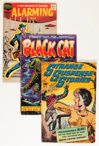 Comic Books - Assorted Golden Age Horror Comics Group (Various Publishers, 1950s) Condition: Average GD.... (Total: 7 Co...