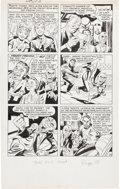 Original Comic Art:Panel Pages, Jack Kirby and Joe Simon The Fly #2 Page 18 Original Art (Archie, 1959)....