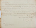 Autographs:Non-American, Cuthbert Collingwood General Order Signed....