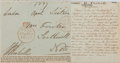 Autographs:Non-American, George R. Pechell Clipped Signature. ...