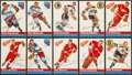 Hockey Cards:Lots, 1954 Topps Hockey Collection (26) - With Stars & HoFers. ...