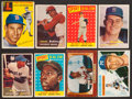 Baseball Cards:Lots, 1950's Topps & Bowman Baseball Hall of Famers Collection (8). ...