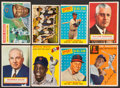 Baseball Cards:Lots, 1950's Topps Baseball Hall of Famers Collection (8). ...