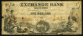 Obsoletes By State:Indiana, Greencastle, IN- The Exchange Bank $5 May 10, 1854 G4a Wolka 257-2. ...