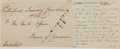 Autographs:Non-American, Sir Charles Paget Clipped Signature....