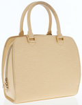 Luxury Accessories:Bags, Louis Vuitton Vanilla Epi Leather Pont-Neuf Top Handle Bag. ...
