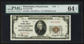 National Bank Notes:Pennsylvania, Philadelphia, PA - $20 1929 Ty. 1 The First NB Ch. # 1. ...
