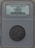 1812 1C Large Date, S-288, B-3, R.2 -- Corroded -- NCS. XF Details. NGC Census: (0/0). PCGS Population (0/5). ...(PCGS#...
