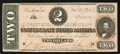 Confederate Notes:1864 Issues, T70 $2 1864 PF- 5 Cr. 567.. ...