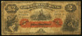 Canadian Currency: , Saint Johns, NF- Commercial Bank of Newfoundland $2 Jan. 3, 1888Ch. # 185-18-04. ...