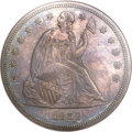 Seated Dollars, 1859 $1 MS61 NGC....
