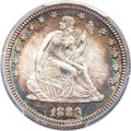 Seated Quarters, 1883 25C MS66 PCGS. CAC....