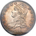 Bust Half Dollars, 1834 50C Large Date, Small Letters MS65 PCGS. O-108, R.2....