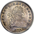 Early Dollars, 1803 $1 Large 3 AU55 PCGS. B-6, BB-255, R.1....