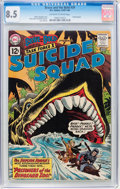 Silver Age (1956-1969):Adventure, The Brave and the Bold #39 Suicide Squad (DC, 1962) CGC VF+ 8.5 Off-white to white pages....