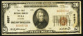 National Bank Notes:Alabama, Elba, AL - $20 1929 Ty. 1 The First NB Ch. # 6897. ...