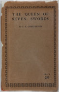 Books:First Editions, G. K. Chesterton. The Queen of Seven Swords. London: Sheed& Ward, 1926. First edition, first printing. Publisher's ...