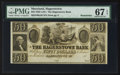 Obsoletes By State:Maryland, Hagerstown, MD- The Hagerstown Bank $50 18__ Remainder . ...