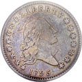 Early Half Dollars, 1795 50C 2 Leaves -- Flipover Double Struck -- VF20 PCGS. CAC.O-131, High R.4....