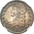Bust Half Dollars, 1829 50C Small Letters MS64 NGC. CAC. O-105, R.1....