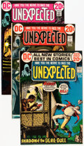 Bronze Age (1970-1979):Horror, Unexpected Group - Savannah pedigree (DC, 1972-81) Condition:Average VF/NM.... (Total: 33 Comic Books)